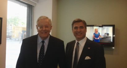 with Steve Forbes